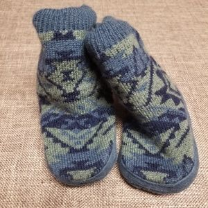 Carter's boy's knit boots infant 6 to 12 months